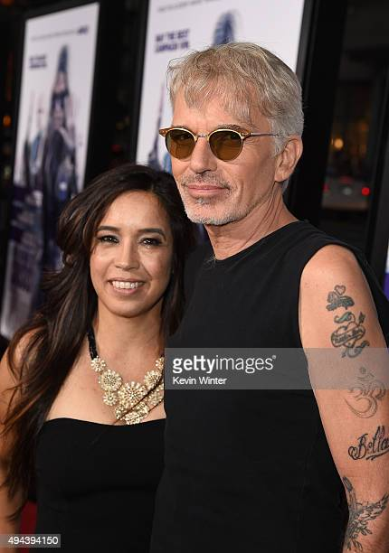 Actor Billy Bob Thornton and Connie Angland attend the premiere of Warner Bros Pictures' 'Our Brand Is Crisis' at TCL Chinese Theatre on October 26...