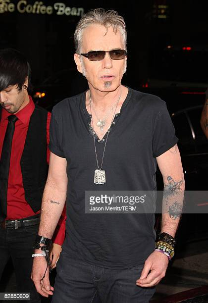 Actor Billy Bob Thornton arrives to the Los Angeles premiere of DreamWorks' 'Eagle Eye' on September 16 2008 in Hollywood California