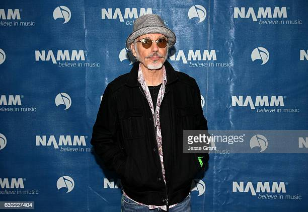 Actor Billy Bob Thornton attends the 2017 NAMM Show at the Anaheim Convention Center on January 20 2017 in Anaheim California
