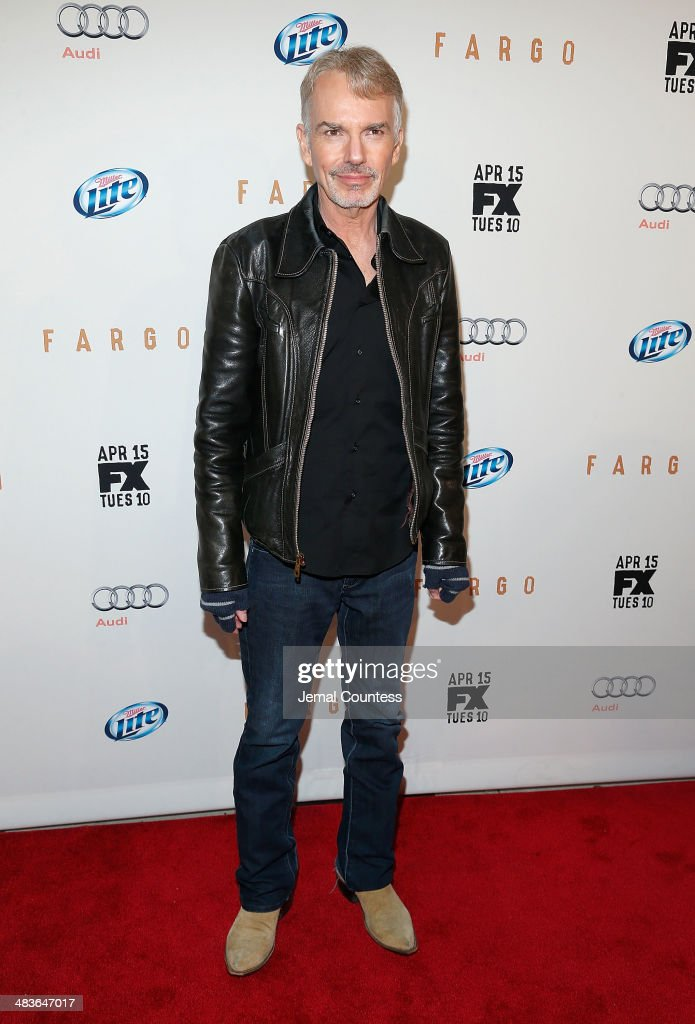 Actor <a gi-track='captionPersonalityLinkClicked' href=/galleries/search?phrase=Billy+Bob+Thornton&family=editorial&specificpeople=203028 ng-click='$event.stopPropagation()'>Billy Bob Thornton</a> attends the FX Networks Upfront screening of 'Fargo' at SVA Theater on April 9, 2014 in New York City.