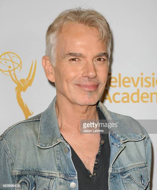 Actor Billy Bob Thornton attends the Television Academy Producers Peer Group nominee reception for the 66th Emmy Awards at The London West Hollywood...