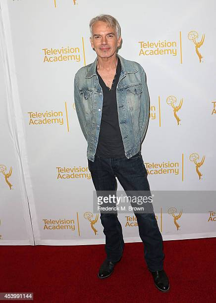 Actor Billy Bob Thornton attends the Television Academy's Producers Peer Group Celebrates the 66th Annual Emmy Awards at The London West Hollywood on...
