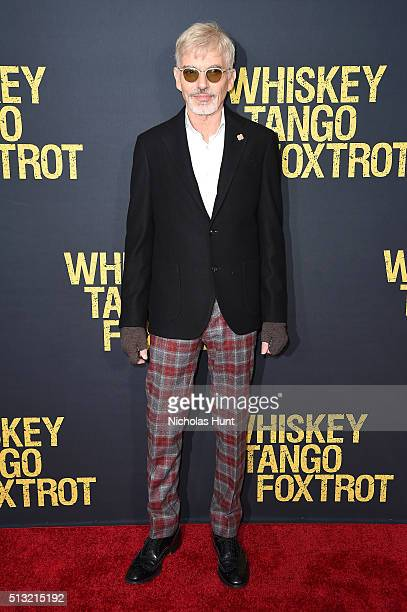 Actor Billy Bob Thornton attends the 'Whiskey Tango Foxtrot' world premiere at AMC Loews Lincoln Square 13 theater on March 1 2016 in New York City