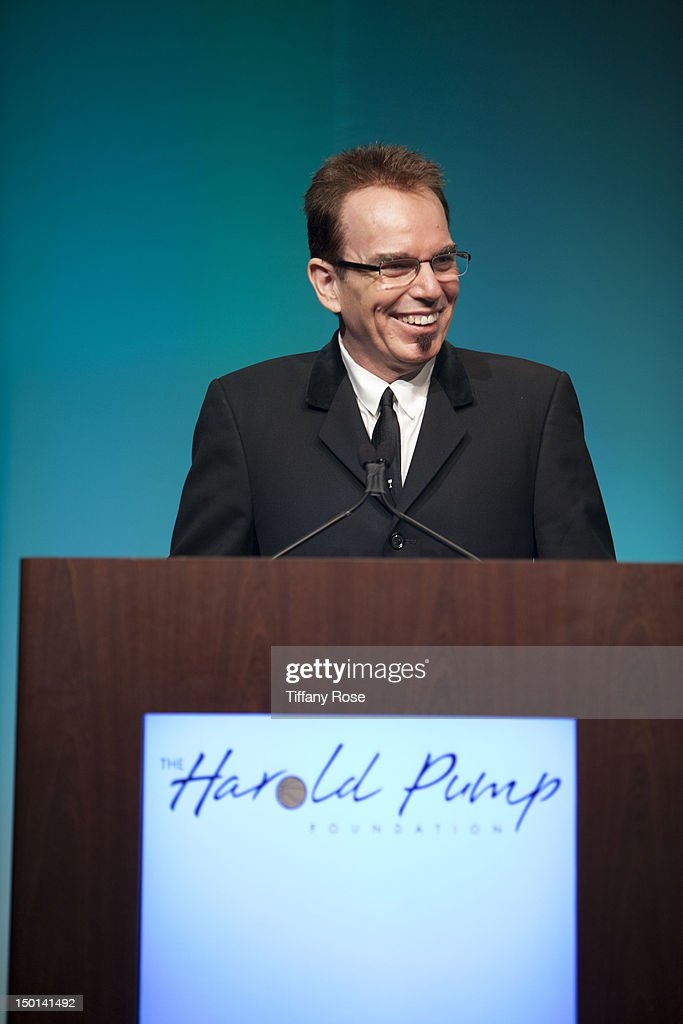Actor <a gi-track='captionPersonalityLinkClicked' href=/galleries/search?phrase=Billy+Bob+Thornton&family=editorial&specificpeople=203028 ng-click='$event.stopPropagation()'>Billy Bob Thornton</a> speaks at the 12th Annual Harold Pump Foundation Gala at the Hyatt Regency Century Plaza on August 10, 2012 in Century City, California.