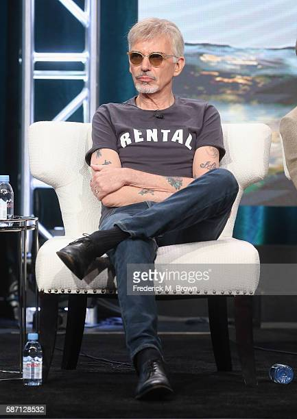 Actor Billy Bob Thornton speaks onstage at 'Goliath' panel discussion during the Amazon portion of the 2016 Television Critics Association Summer...