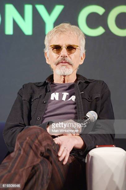 Actor Billy Bob Thornton speaks onstage during the 'Stars of Bad Santa 2' panel at Entertainment Weekly's PopFest at The Reef on October 30 2016 in...