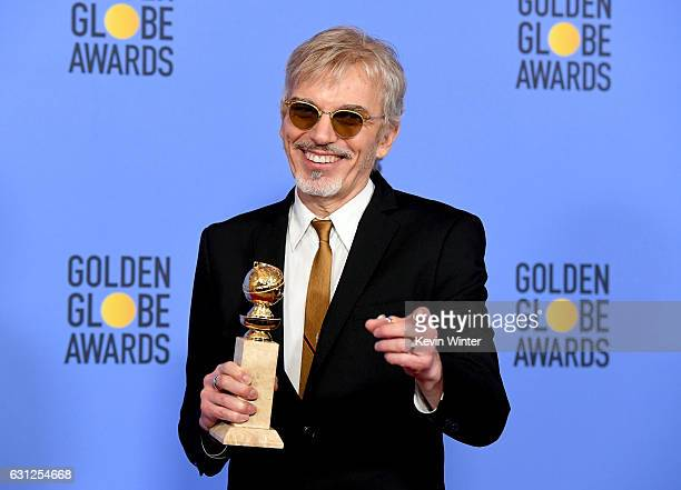 Actor Billy Bob Thornton winner of Best Performance in a Television Series Drama for 'Goliath' poses in the press room during the 74th Annual Golden...