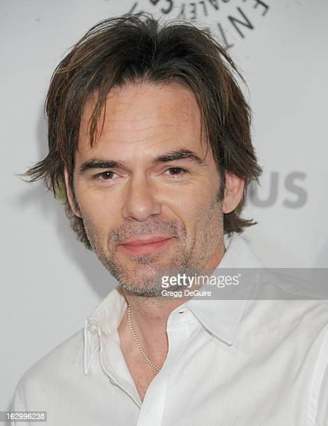 Actor Billy Burke arrives at the 30th Annual PaleyFest The William S Paley Television Festival featuring 'Revolution' at Saban Theatre on March 2...