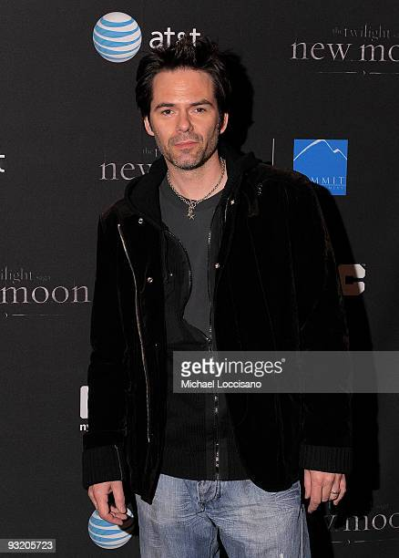 Actor Billy Burke attends 'The Twilight Saga New Moon' advanced screening at the Regal Union Square on November 18 2009 in New York City