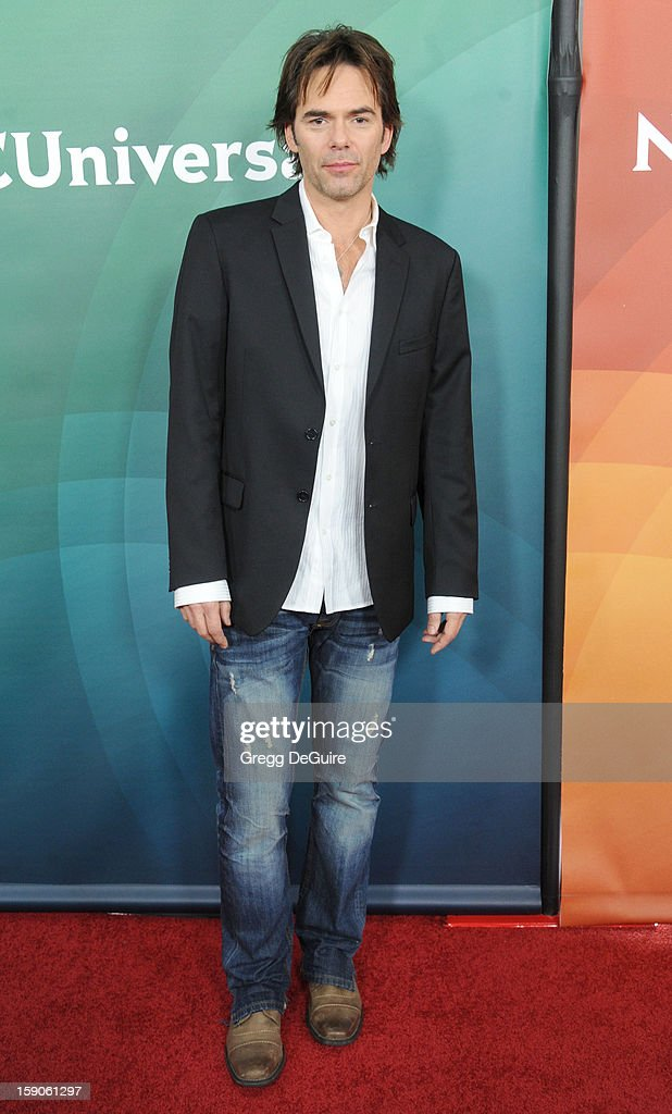 Actor Billy Burke poses at the 2013 NBC Universal TCA Winter Press Tour Day 1 at The Langham Huntington Hotel and Spa on January 6, 2013 in Pasadena, California.
