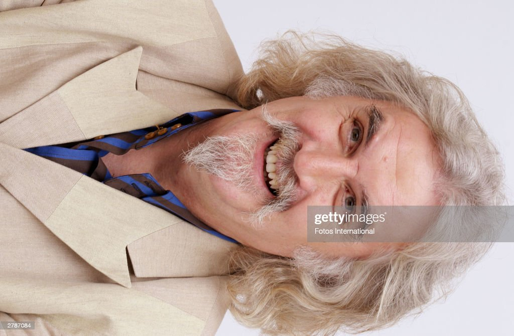 Actor <a gi-track='captionPersonalityLinkClicked' href=/galleries/search?phrase=Billy+Connolly&family=editorial&specificpeople=208248 ng-click='$event.stopPropagation()'>Billy Connolly</a> answers questions from the press at a junket for his new film 'Timeline' at the Four Seasons Hotel November 8, 2003 in Beverly Hills, California.