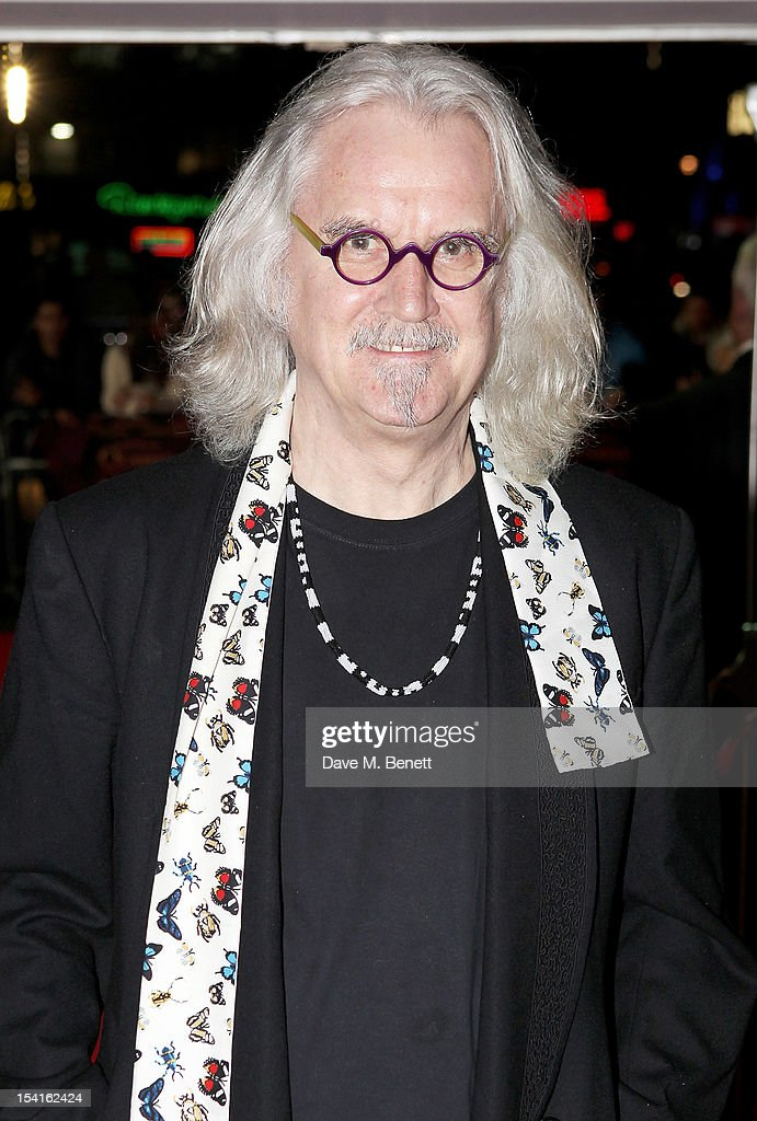Actor <a gi-track='captionPersonalityLinkClicked' href=/galleries/search?phrase=Billy+Connolly&family=editorial&specificpeople=208248 ng-click='$event.stopPropagation()'>Billy Connolly</a> attends the Premiere of 'Quartet' during the 56th BFI London Film Festival at Odeon Leicester Square on October 15, 2012 in London, England.