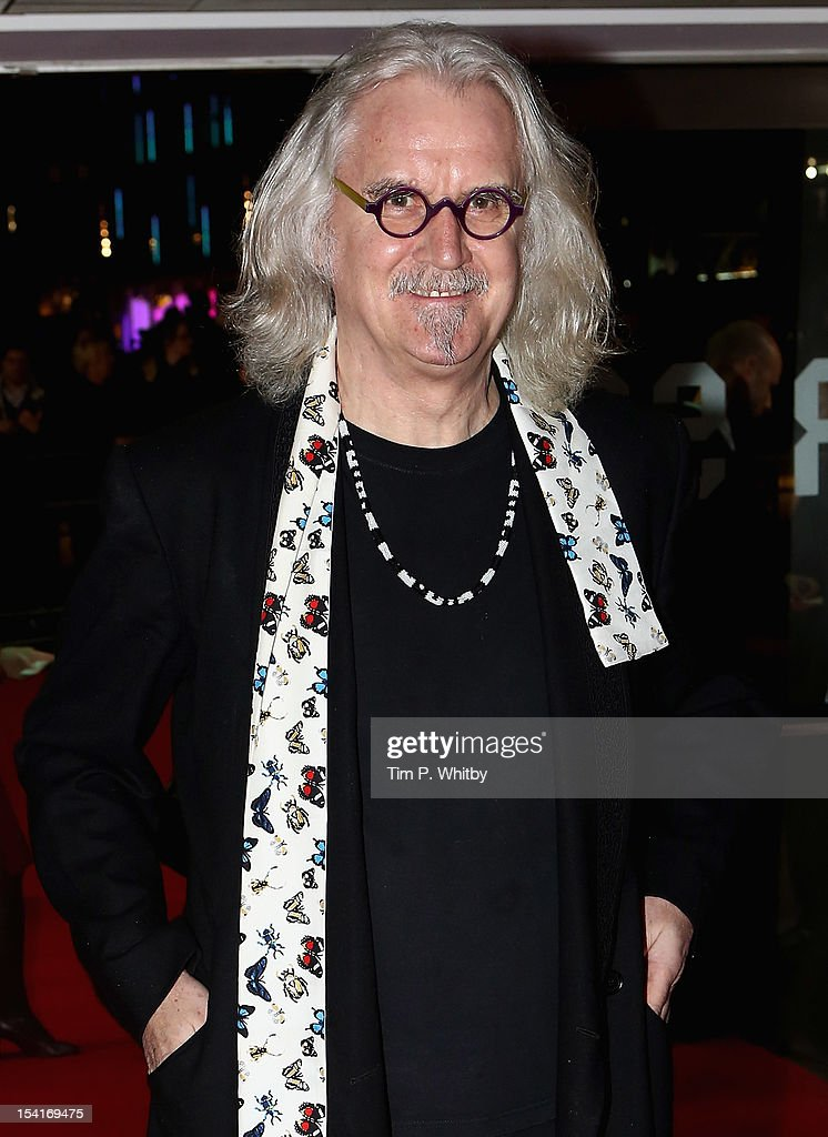 Actor <a gi-track='captionPersonalityLinkClicked' href=/galleries/search?phrase=Billy+Connolly&family=editorial&specificpeople=208248 ng-click='$event.stopPropagation()'>Billy Connolly</a> attends the 'Quartet' premiere during the 56th BFI London Film Festival at the Odeon Leicester Square on October 15, 2012 in London, England.