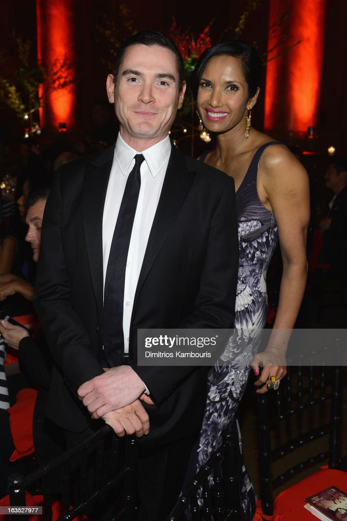 Actor Billy Crudup and TV Personality Padma Lakshmi attend The Endometriosis Foundation of America's Celebration of The 5th Annual Blossom Ball at Capitale on March 11, 2013 in New York City.