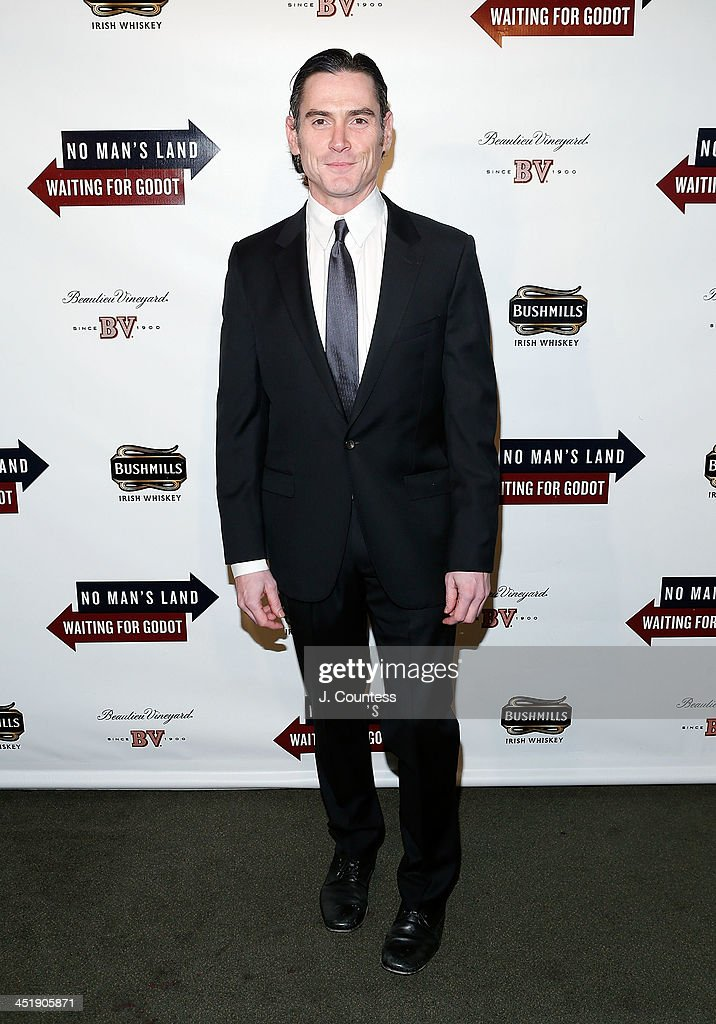 Actor <a gi-track='captionPersonalityLinkClicked' href=/galleries/search?phrase=Billy+Crudup&family=editorial&specificpeople=204698 ng-click='$event.stopPropagation()'>Billy Crudup</a> attends the 'No Man's Land' & 'Waiting For Godot' Opening Night after party at the Bryant Park Grill on November 24, 2013 in New York City.