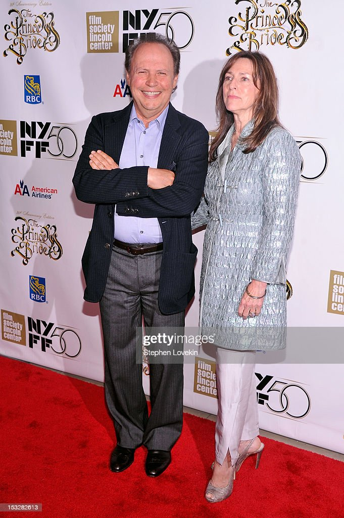 Actor Billy Crystal and Janice Crystal attend the 25th anniversary screening cast reunion of 'The Princess Bride' during the 50th New York Film...
