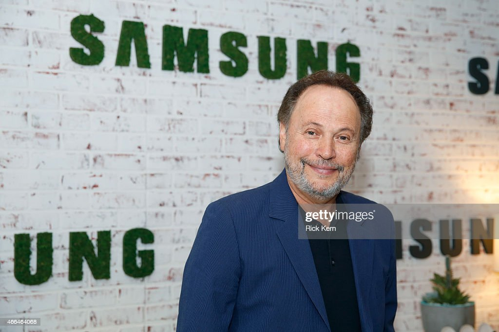 Actor <a gi-track='captionPersonalityLinkClicked' href=/galleries/search?phrase=Billy+Crystal&family=editorial&specificpeople=202497 ng-click='$event.stopPropagation()'>Billy Crystal</a> attends the Samsung Studio at SXSW 2015 on March 15, 2015 in Austin, Texas.