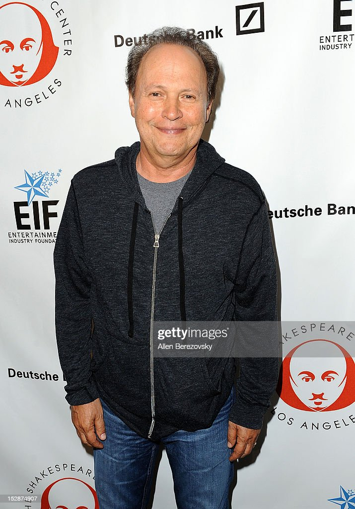 Actor <a gi-track='captionPersonalityLinkClicked' href=/galleries/search?phrase=Billy+Crystal&family=editorial&specificpeople=202497 ng-click='$event.stopPropagation()'>Billy Crystal</a> attends the Shakespeare Center of Los Angeles' 22nd annual 'Simply Shakespeare' reading of 'A Midsummer Night's Dream' at Freud Playhouse, UCLA on September 27, 2012 in Westwood, California.