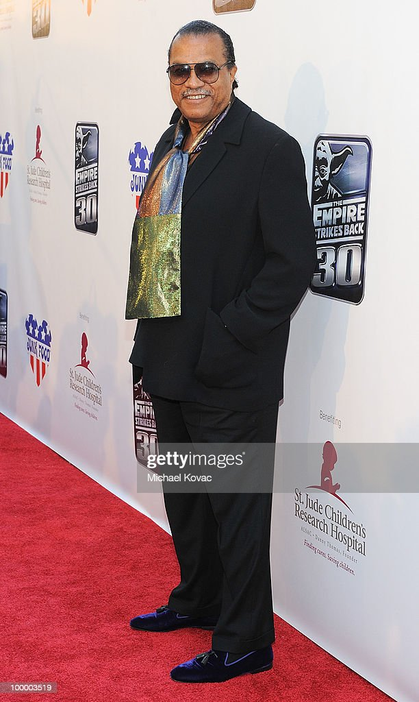 Actor Billy Dee Williams arrives at 'The Empire Strikes Back' 30th Anniversary Charity Screening Event at ArcLight Cinemas on May 19 2010 in...