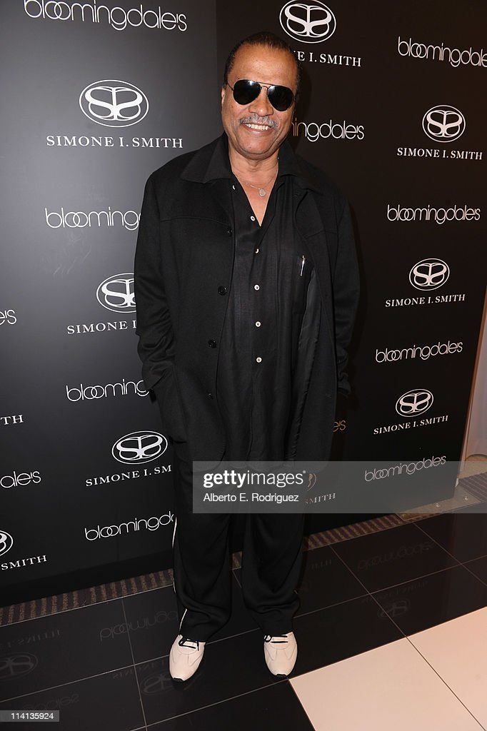 Actor Billy Dee Williams attends a personal appearance by Simone I Smith at Bloomingdale's on May 12 2011 in Century City California