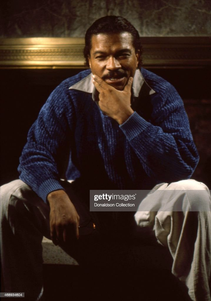 Actor Billy Dee Williams poses for a portrait session at home in 1984 in Los Angeles California