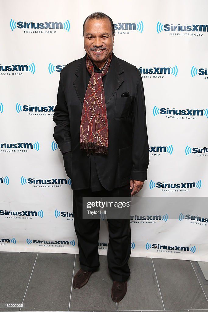 Actor Billy Dee Williams visits the SiriusXM Studios on April 2 2014 in New York City