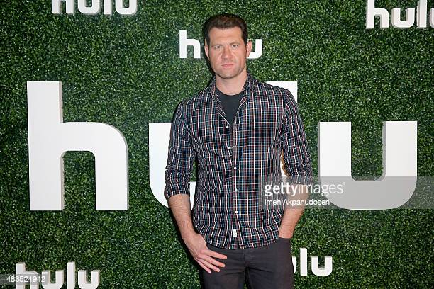Actor Billy Eichner attends the Hulu 2015 Summer TCA Presentation at The Beverly Hilton Hotel on August 9 2015 in Beverly Hills California