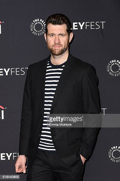 Actor Billy Eichner attends The Paley Center For Media's 33rd Annual PaleyFest Los Angeles 'Difficult People' at Dolby Theatre on March 18 2016 in...