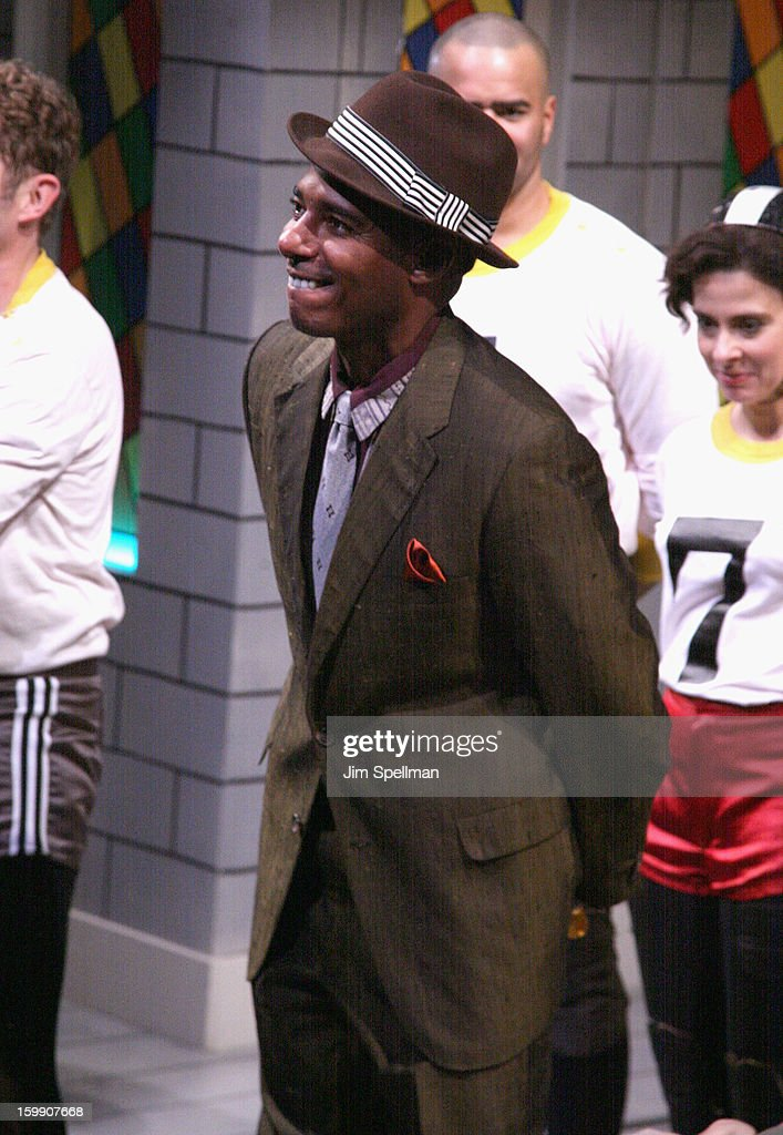 Actor Billy Eugene Jones attends the 'The Jammer' Opening Night at Atlantic Stage 2 on January 22, 2013 in New York City.