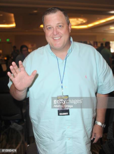 Actor Billy Gardell signs autographs at The Hollywood Show held at Westin LAX Hotel on July 8 2017 in Los Angeles California