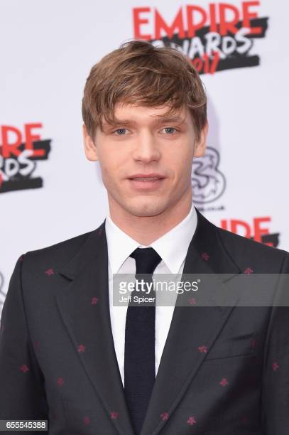 Actor Billy Howle attends the THREE Empire awards at The Roundhouse on March 19 2017 in London England