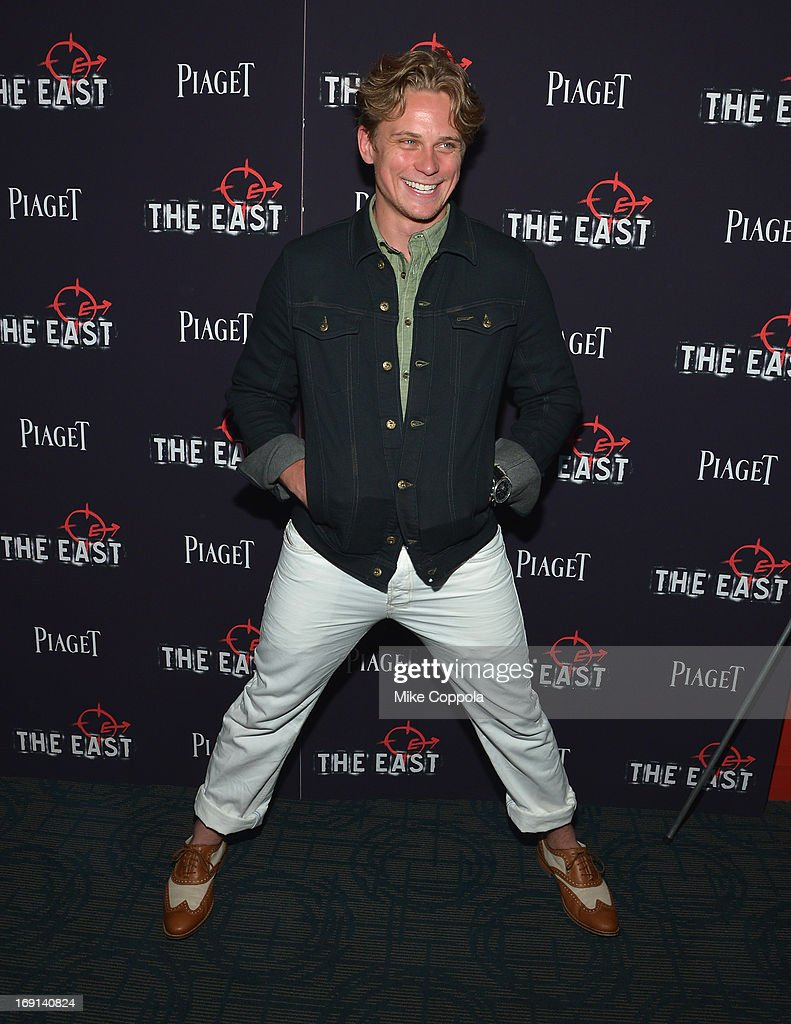 Actor <a gi-track='captionPersonalityLinkClicked' href=/galleries/search?phrase=Billy+Magnussen&family=editorial&specificpeople=5408596 ng-click='$event.stopPropagation()'>Billy Magnussen</a> attends the New York premiere of 'The East' at Sunshine Landmark on May 20, 2013 in New York City.