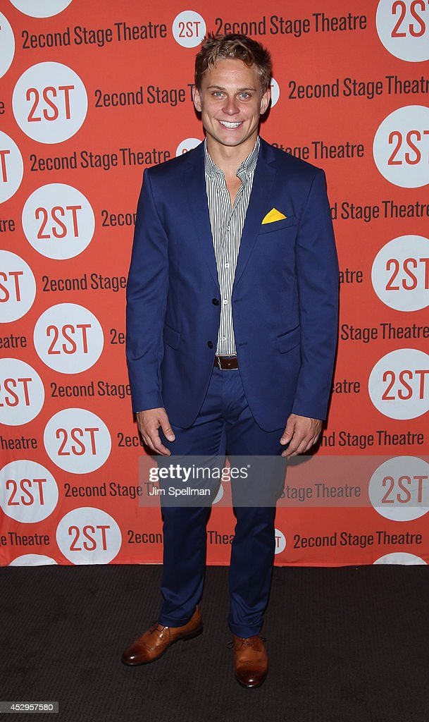 Actor <a gi-track='captionPersonalityLinkClicked' href=/galleries/search?phrase=Billy+Magnussen&family=editorial&specificpeople=5408596 ng-click='$event.stopPropagation()'>Billy Magnussen</a> attends the 'Sex With Strangers' Opening Night after party at Four at Yotel on July 30, 2014 in New York City.