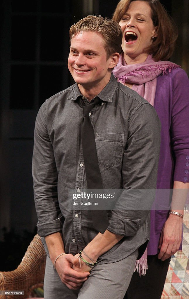Actor <a gi-track='captionPersonalityLinkClicked' href=/galleries/search?phrase=Billy+Magnussen&family=editorial&specificpeople=5408596 ng-click='$event.stopPropagation()'>Billy Magnussen</a> attends the 'Vanya And Sonia And Masha And Spike' Broadway opening night at The Golden Theatre on March 14, 2013 in New York City.