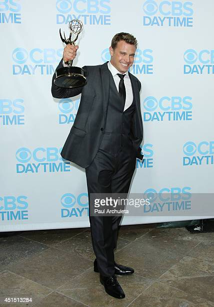 Actor Billy Miller attends the 41st Annual Daytime Emmy Awards CBS after party at The Beverly Hilton Hotel on June 22 2014 in Beverly Hills California