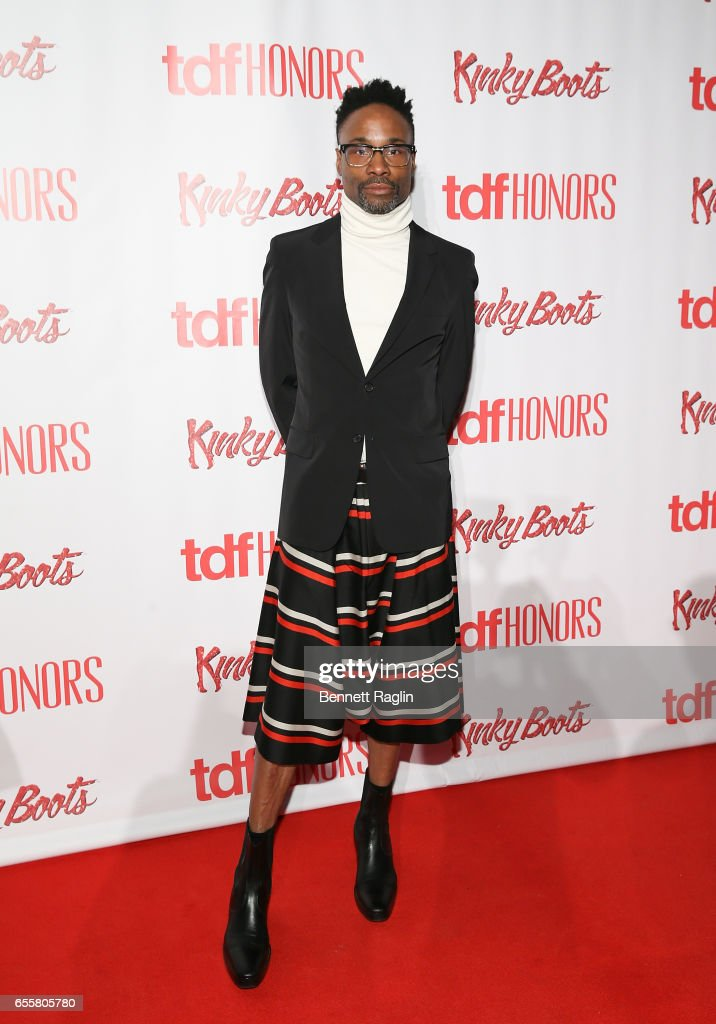 Actor Billy Porter attends TDF Honors Broadway's 'Kinky Boots' at Marriott Marquis Times Square on March 20, 2017 in New York City.