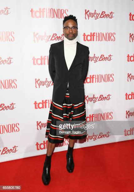 Actor Billy Porter attends TDF Honors Broadway's 'Kinky Boots' at Marriott Marquis Times Square on March 20 2017 in New York City