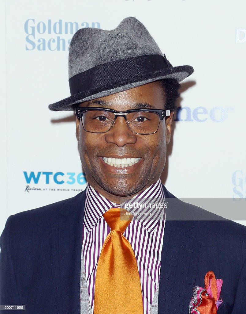 Actor Billy Porter attends the 2015 Billie Jean King Leadership Initiative Gala at 4 World T... Show more - actor-billy-porter-attends-the-2015-billie-jean-king-leadership-gala-picture-id500711656