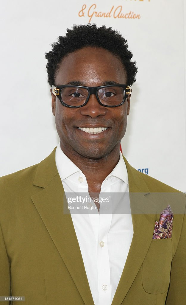 Actor Billy Porter attends the 27th annual Broadway Flea Market & Grand Auction at Marquis T... Show more - actor-billy-porter-attends-the-27th-annual-broadway-flea-market-grand-picture-id181574054