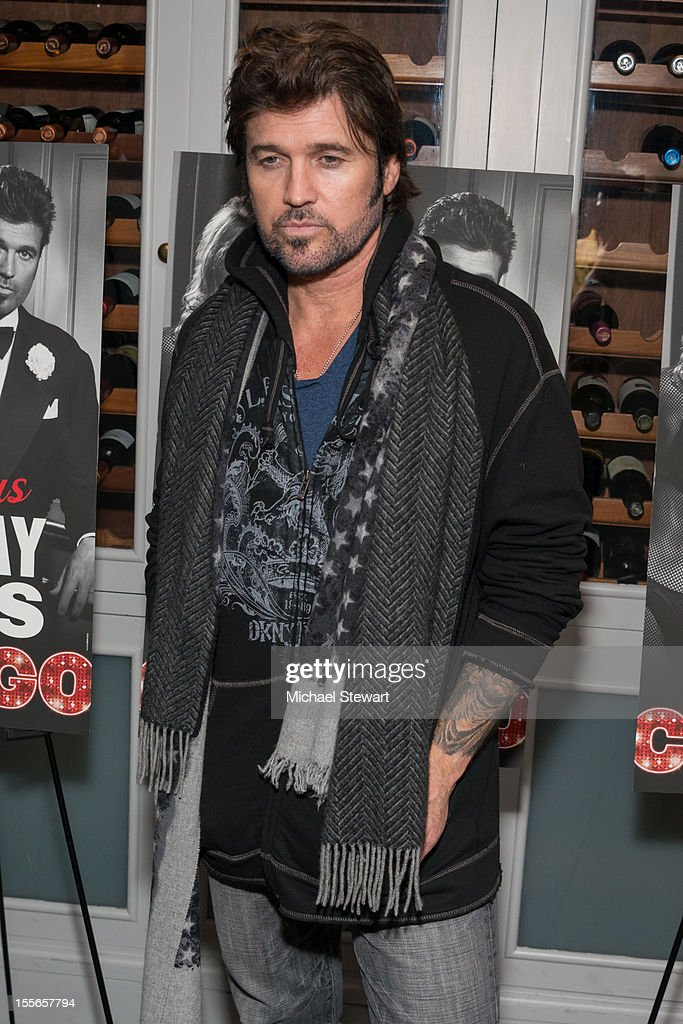 Actor Billy Ray Cyrus attends the post show celebration for Billy Ray Cyrus' Broadway debut in 'Chicago' at Victor's Cafe on November 5, 2012 in New York City.