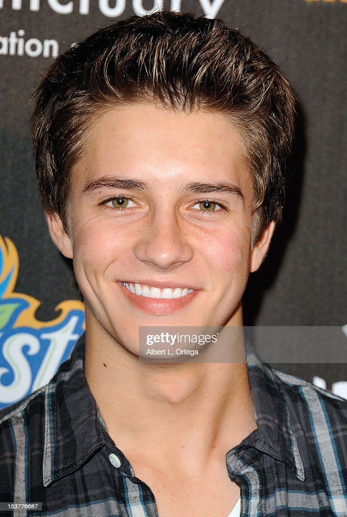 Actor Billy Unger arrives for the 4th Annual Los Angeles Haunted Hayride - 'The Congregation' - Arrivals held at Griffith Park on October 7, 2012 in Los Angeles, California.