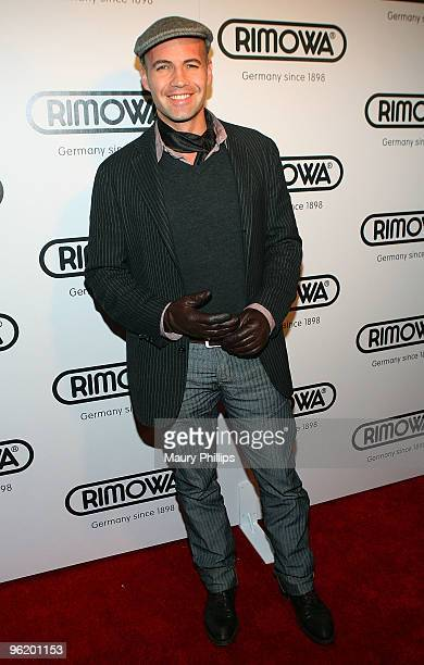 Actor Billy Zane arrives at RIMOWA Rodeo Drive Boutique Launch Party on on January 26 2010 in Beverly Hills California