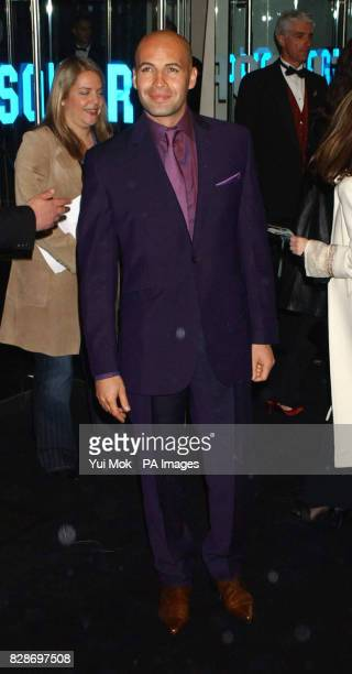 Actor Billy Zane arriving for the UK premiere of The Matrix Reloaded at the Odeon cinema in London's Leicester Square