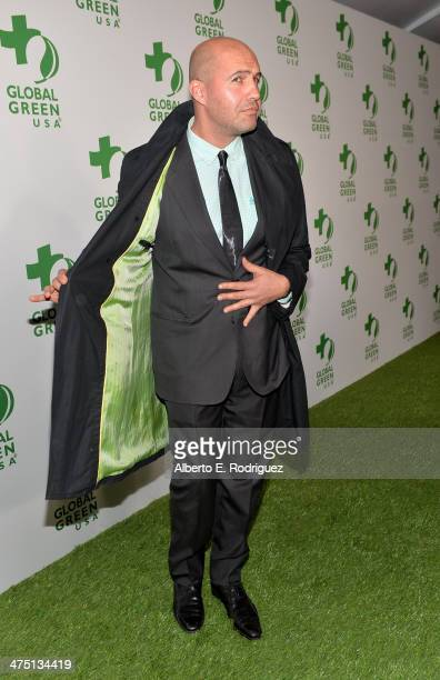 Actor Billy Zane attends Global Green USA's 11th Annual PreOscar party at Avalon on February 26 2014 in Hollywood California