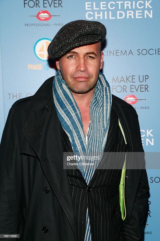 Actor <a gi-track='captionPersonalityLinkClicked' href=/galleries/search?phrase=Billy+Zane&family=editorial&specificpeople=211418 ng-click='$event.stopPropagation()'>Billy Zane</a> attends The Cinema Society & Make Up For Ever host a screening of 'Electrick Children' at IFC Center on March 4, 2013 in New York City.