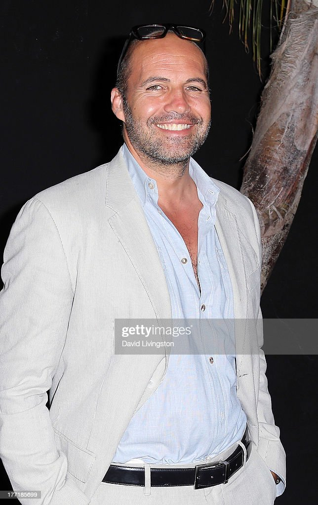 Actor Billy Zane attends the opening night of Billy Zane's 'Seize The Day Bed' solo art exhibition at G+ Gulla Jonsdottir Design on August 21, 2013 in Los Angeles, California.