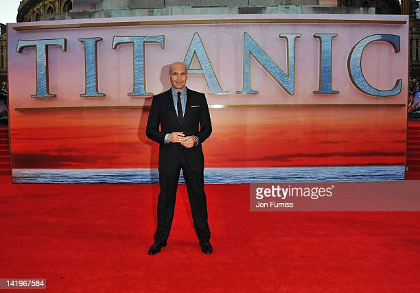 Actor Billy Zane attends the 'Titanic 3D' world premiere at the Royal Albert Hall on March 27 2012 in London England