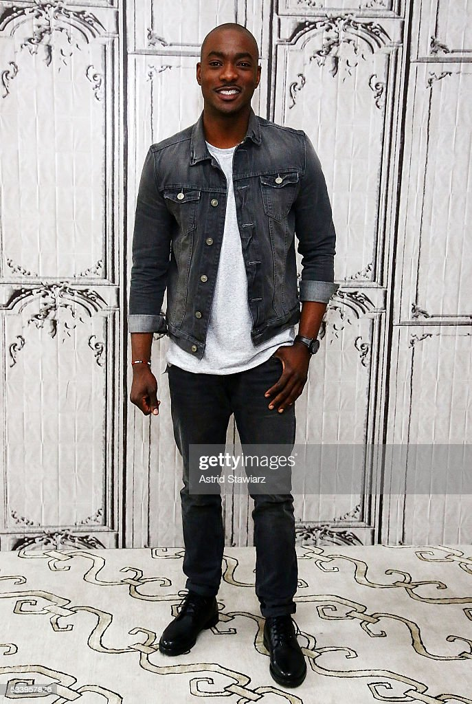 Actor B.J. Britt attends AOL Build Presents: The Cast Of 'UnREAL' at AOL Studios In New York on May 24, 2016 in New York City.