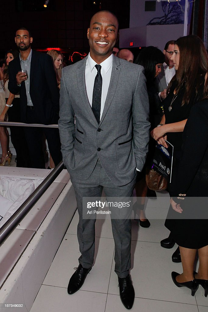 Actor B.J. Britt attends Los Angeles Confidential Celebrates 10th Anniversary Presented By Merrill Lynch Wealth Management at SupperClub Los Angeles on December 1, 2012 in Los Angeles, California.
