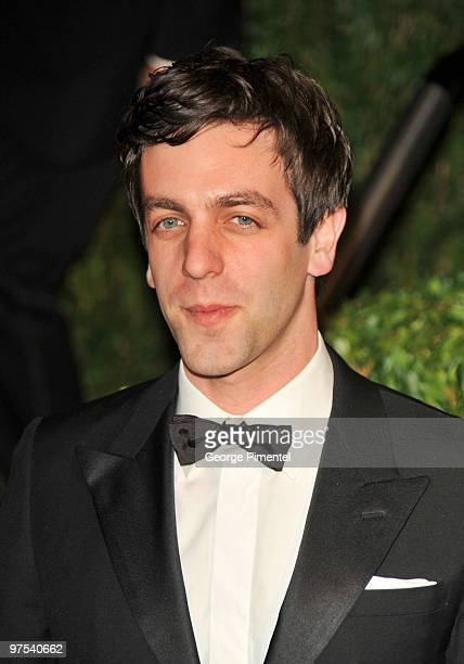 Actor BJ Novak arrives at the 2010 Vanity Fair Oscar Party hosted by Graydon Carter held at Sunset Tower on March 7 2010 in West Hollywood California